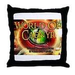 World of Caenyr Throw Pillow