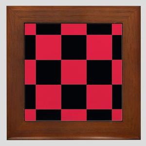 pink black checkerboard wall art cafepress
