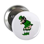 "Mooning Leprechaun 2.25"" Button (100 pack)"