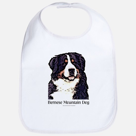 Bernese Mountain Dog Bib