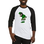 Mooning Leprechaun Baseball Jersey