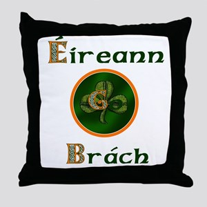 Eireann Go Brach Throw Pillow