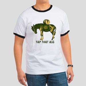 Tap That Ass Donkey Beer Keg Ringer T