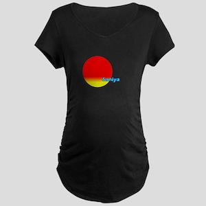 Saniya Maternity Dark T-Shirt