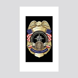 2-OGA Badge Sticker