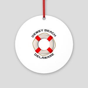 Delaware - Dewey Beach Round Ornament
