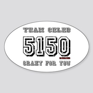 5150 Oval Sticker