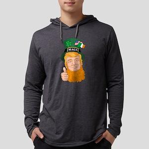 Trump St. Patrick's Day MAGA Long Sleeve T-Shirt