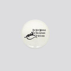 Witch Meddling Mini Button