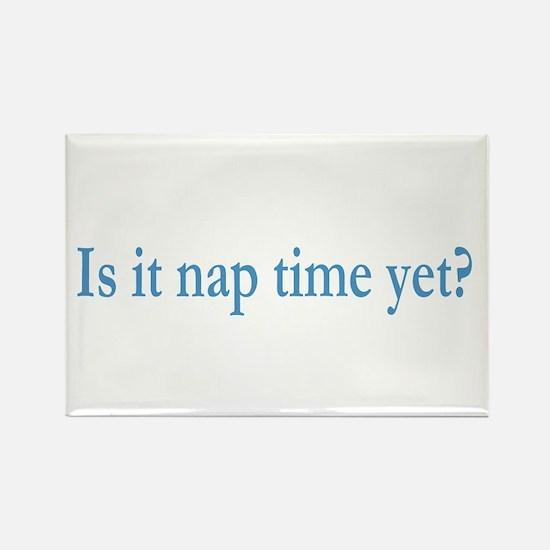 Nap Time Rectangle Magnet