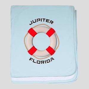 Florida - Jupiter baby blanket