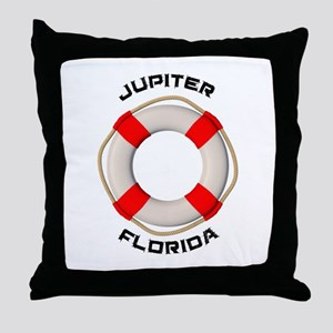 Florida - Jupiter Throw Pillow