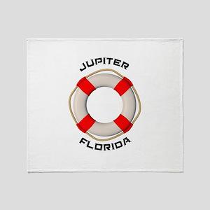 Florida - Jupiter Throw Blanket