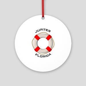 Florida - Jupiter Round Ornament