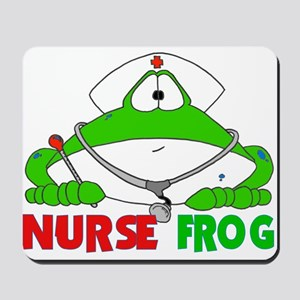 NURSE FROG Mousepad