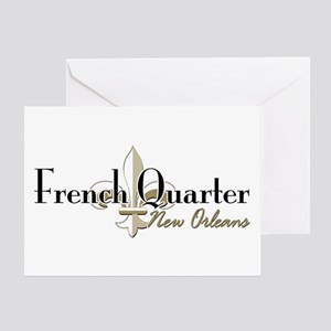 French Quarter NO Greeting Card