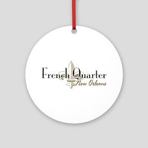 French Quarter NO Round Ornament