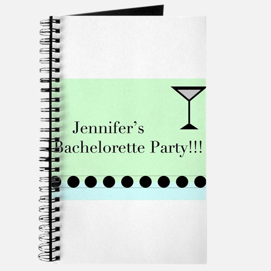 Cute Personalized bachelorette party Journal