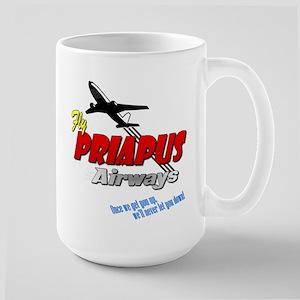 Priapus Airways Large Mug