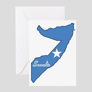 Cool Somalia Greeting Card