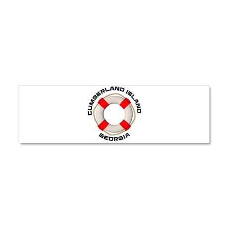 Georgia - Cumberland Island Car Magnet 10 x 3