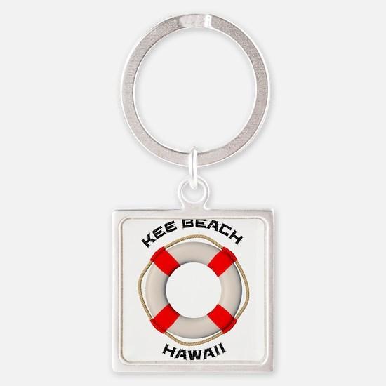 Hawaii - Kee Beach Keychains