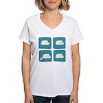 Thunder Fart Women's V-Neck T-Shirt