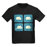Thunder Fart Kids Dark T-Shirt