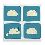 Thunder Fart Tile Coaster