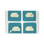 Thunder Fart Rectangle Magnet (100 pack)