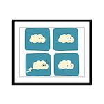 Thunder Fart Framed Panel Print