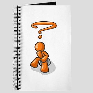 Orange Man Thinker Journal
