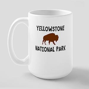 Yellowstone National Park Wyo Large Mug
