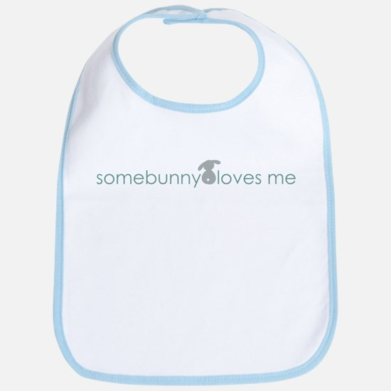 somebunny loves me Bib