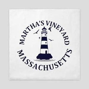Summer Martha's Vineyard- Massachusett Queen Duvet