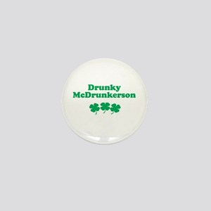 Drunky McDrunkerson Mini Button