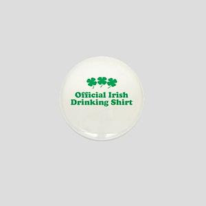 Official Irish drinking shirt Mini Button
