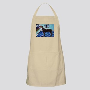 DOBERMAN PINSCHER art BBQ Apron