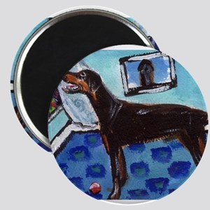 DOBERMAN PINSCHER art Magnet