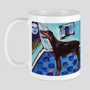 DOBERMAN PINSCHER art Mug