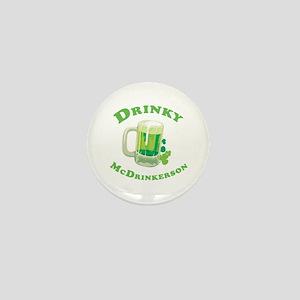 Drinky McDrinkerson Mini Button