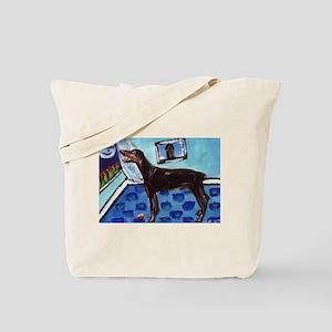 DOBERMAN PINSCHER art Tote Bag
