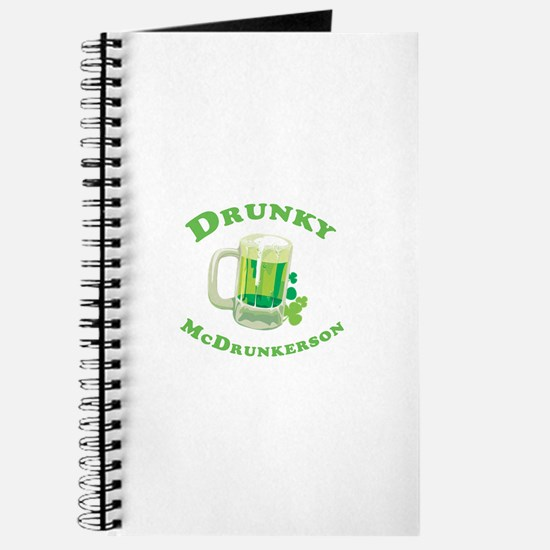 Drunky McDrunkerson Journal
