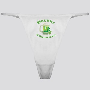 Drunky McDrunkerson Classic Thong