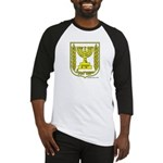 Israel/Yeshua Emblem Baseball Jersey