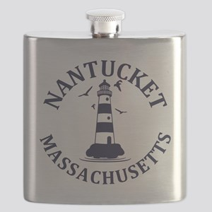 Summer nantucket- massachusetts Flask
