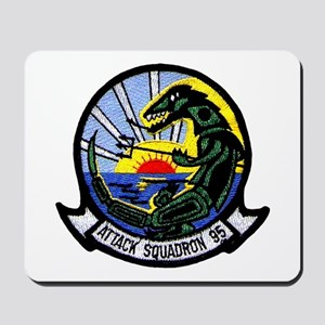 VA 95 Green Lizards Mousepad