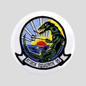 """VA 95 Green Lizards 3.5"""" Button"""