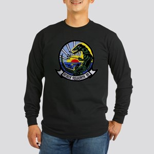 VA 95 Green Lizards Long Sleeve Dark T-Shirt