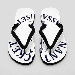 Summer nantucket- massachusetts Flip Flops